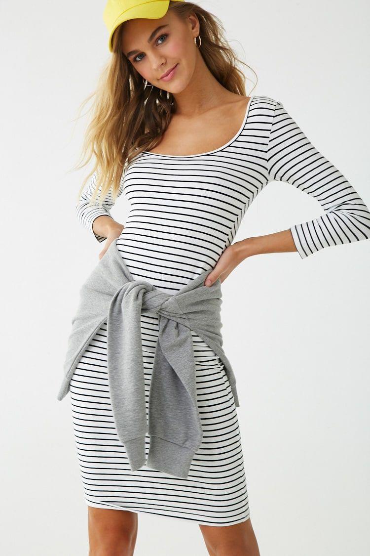 Striped Bodycon Dress Striped Bodycon Dress Striped Bodycon Midi Dress Bodycon Dress [ 1125 x 750 Pixel ]