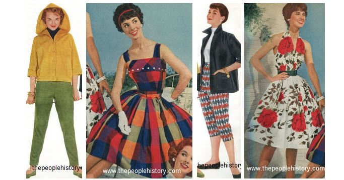 1950 Teenage Clothing 1950s Teen Girl Fashion Clothes Examples