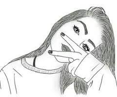 Resultado De Imagen Para Chica Con Paragua Tumblr Hipster Dibujos