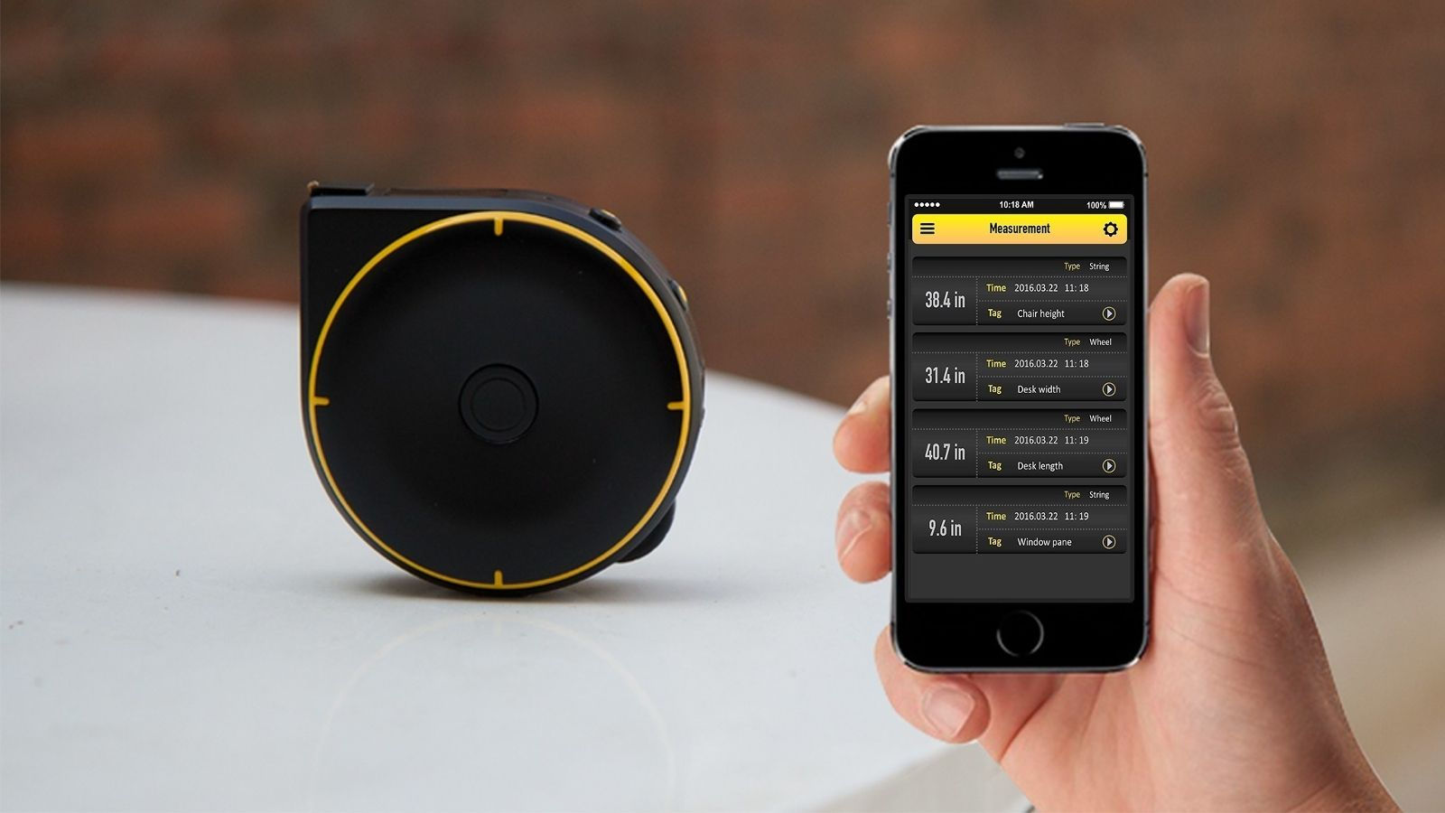 Bagel Labs Smart Measuring Tape Simplifies Diy Launches Kickstarter Campaign Tape Measure Tape Geeky Gadgets