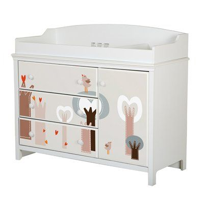 South Shore Furniture 8050 Cotton Candy Changing Table ...