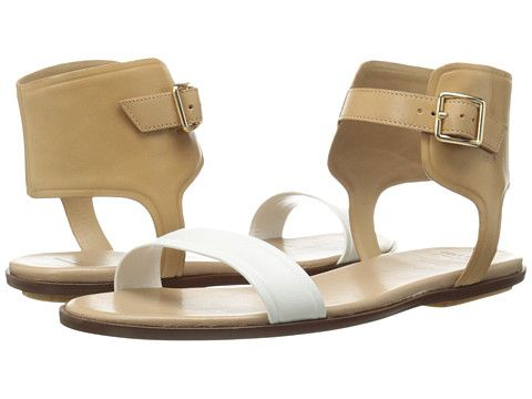 Cole Haan Barra Sandal Optic White/Sandstone/Maple Sugar - Zappos.com Free