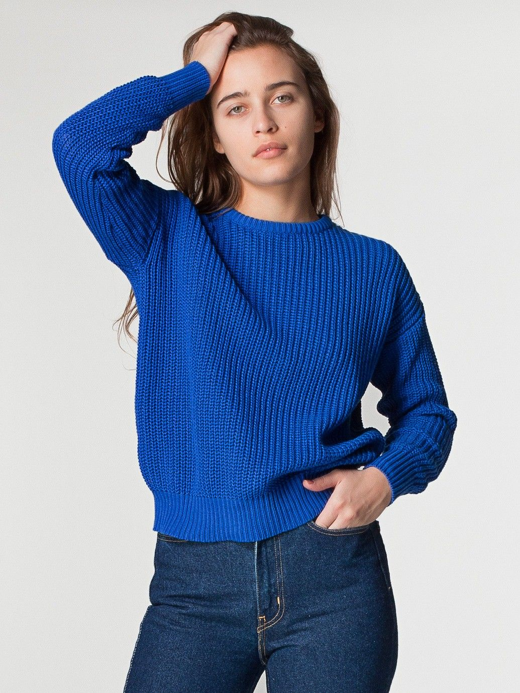 Unisex Fisherman's Pullover | Pullovers | Women's Sweaters ...