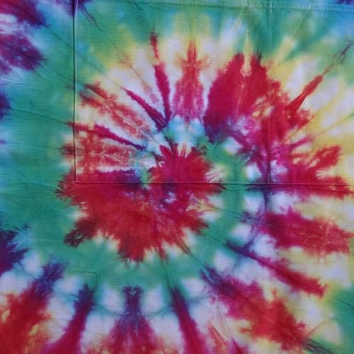 Tie Dyed apron! | Handprinted