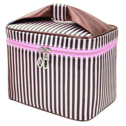ab0b4f61ce6a Makeup Bag, HOYOFO Women Portable Travel Cosmetic Bags with Brush ...
