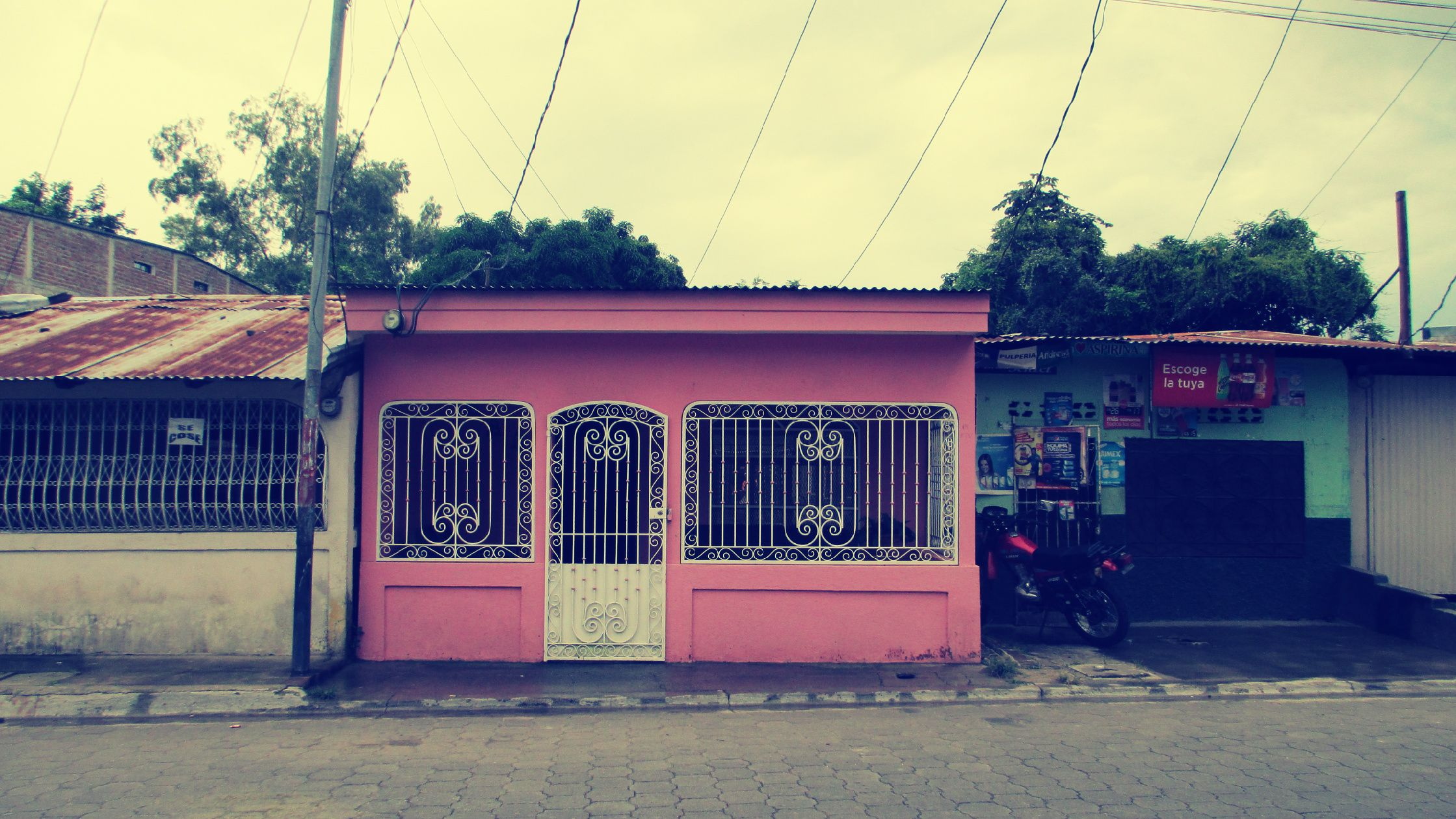 Pink House In Esteli Nicaragua Pink Houses Central America Nicaragua