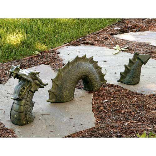 Garden Dragon, Nessie The Garden Dragon, Dragon Statue, Dragon, Garden