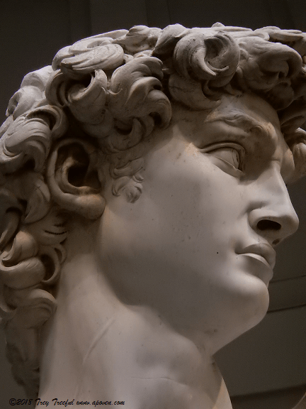 Florence, Italy Accademia, Michelangelo's Unlikely David
