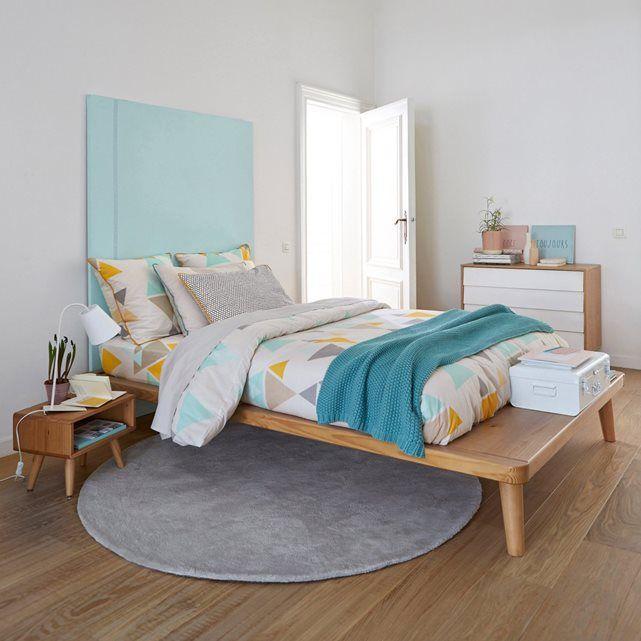 cama com plataforma em pinho maci o estrado jimi la redoute interieurs home sweet home. Black Bedroom Furniture Sets. Home Design Ideas