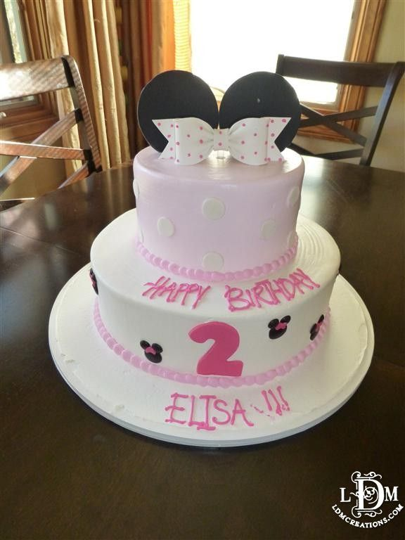 Cake Minnie Mouse Inspired Cake From Portos In Glendale Ca