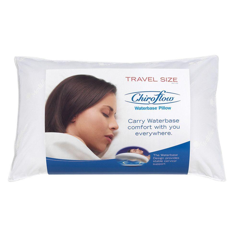 Chiroflow Travel Size Chiroflow Waterbase Pillow Travel Size Products Travel Pillow