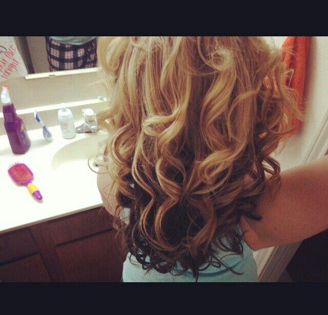 Strawberry Blonde With Dark Brown Underneath Blonde Hair With