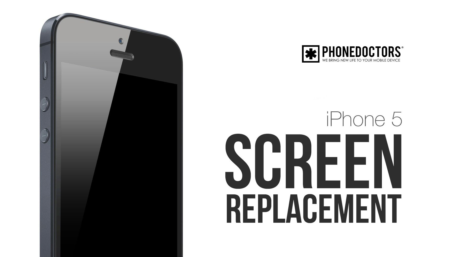 nice iPhone 5 Screen Repair Video - Complete Screen Version