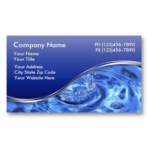 Plumber Business Cards Zazzle Com Business Cards Layout Cool Business Cards Business Cards