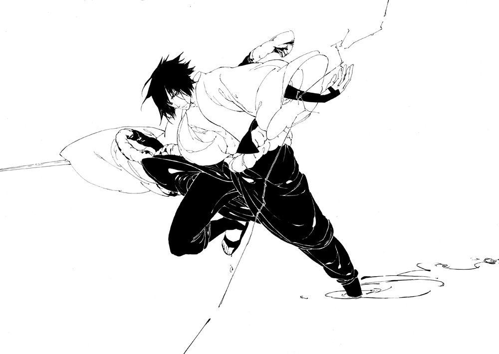 Tags: Fanart, NARUTO, Uchiha Sasuke, Jinxc