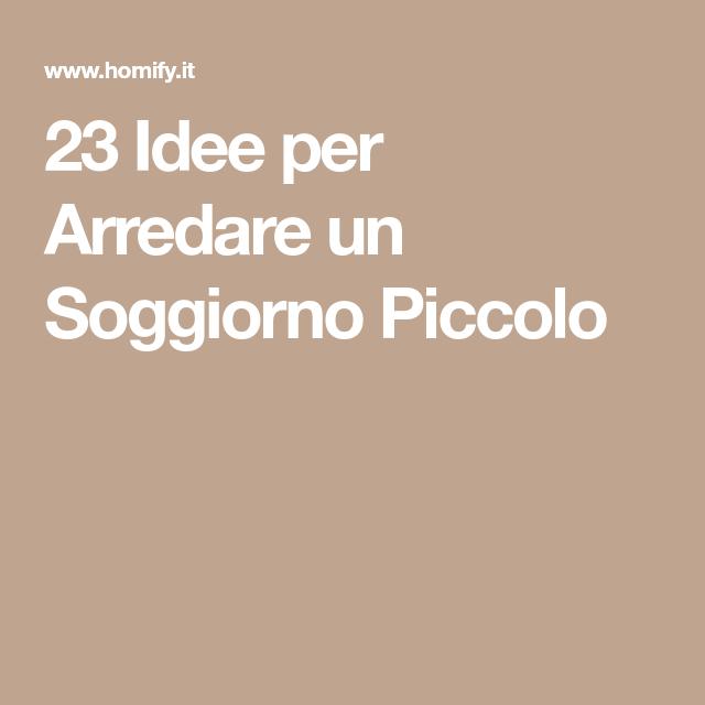 Photo of 23 Idea di Arredare un Soggiorno Piccolo | homify