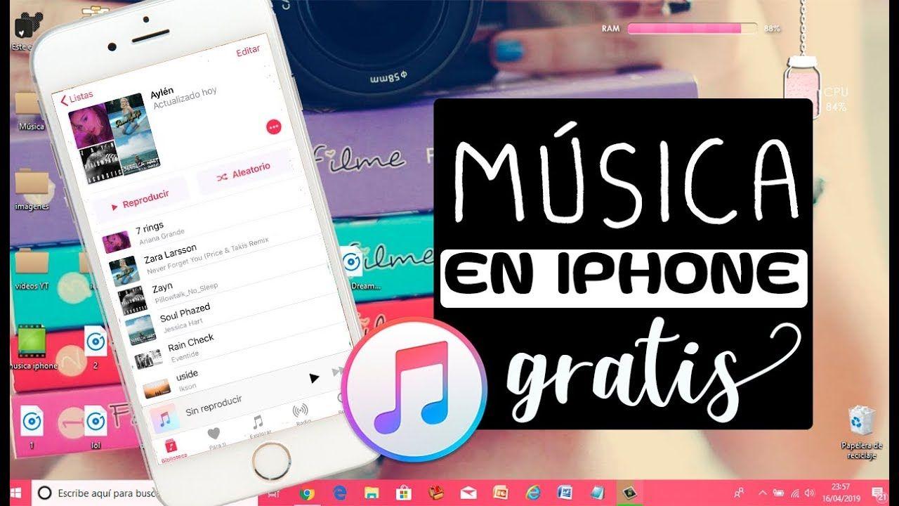 COMO Descargar MÚSICA GRATIS en iphone | Como descargar