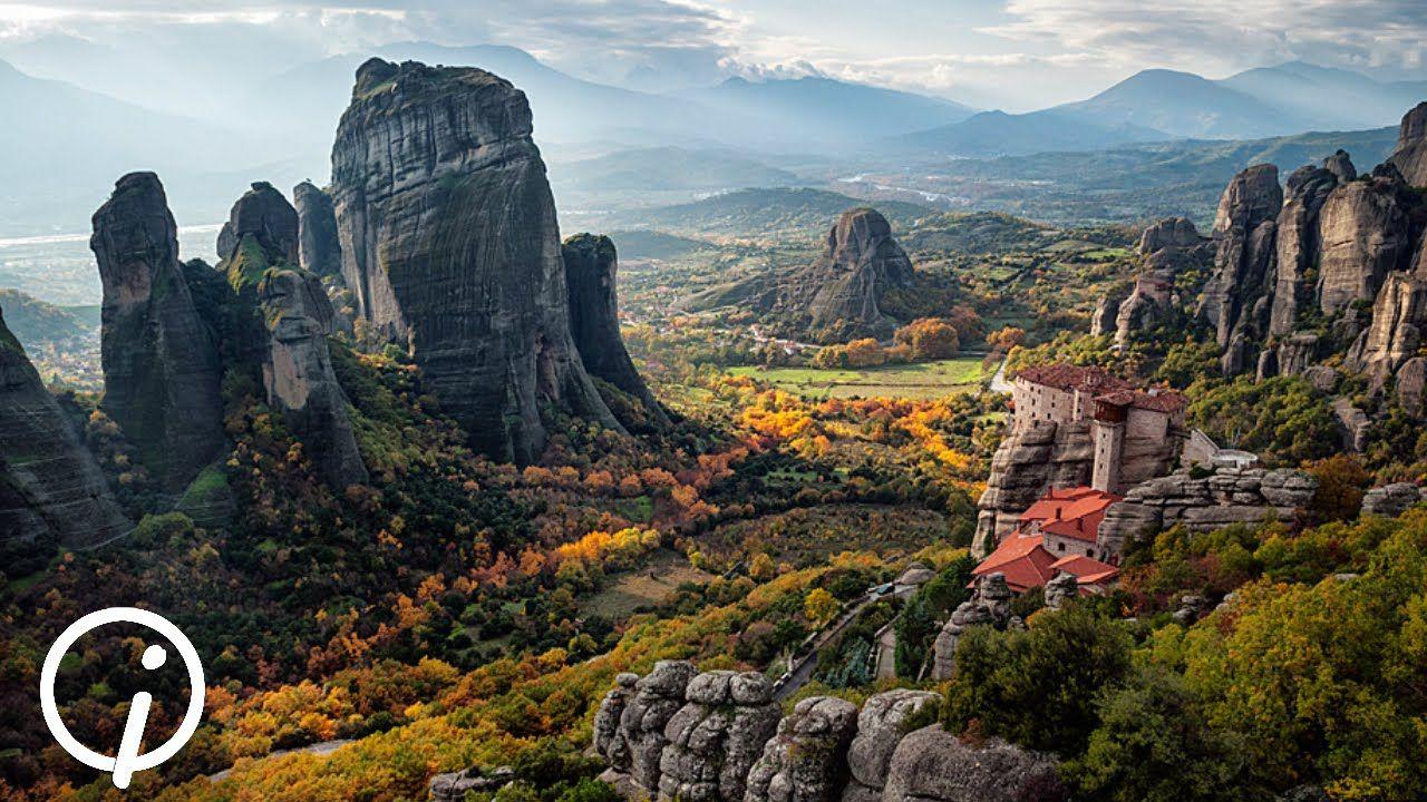 Метеоры Греция | Места для посещения, Путешествия, Греция
