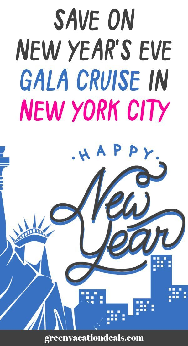 Save On New Year's Eve Gala Cruise In New York City