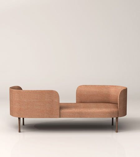 Soon To Be Launched At The 2017 Salone Del Mobile Milan Josephine Is A Tête à Sofa By Gordon Guillaumier For Moroso