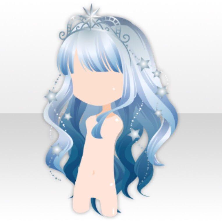 Ice Queen The Motherload Of Hair Anime Hair Hair Chibi Hair