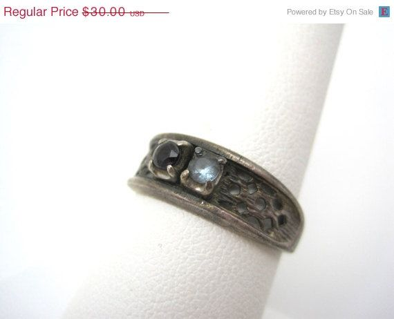 Vintage Spinal and Sterling Ring