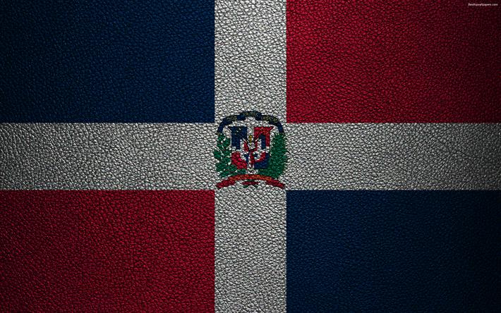 Download Wallpapers Flag Of The Dominican Republic 4k Leather Texture North America Dominican Republic Flag Flags Of The World Dominican Republic Besthqwa Banderas Del Mundo Textura De Cuero Banderas