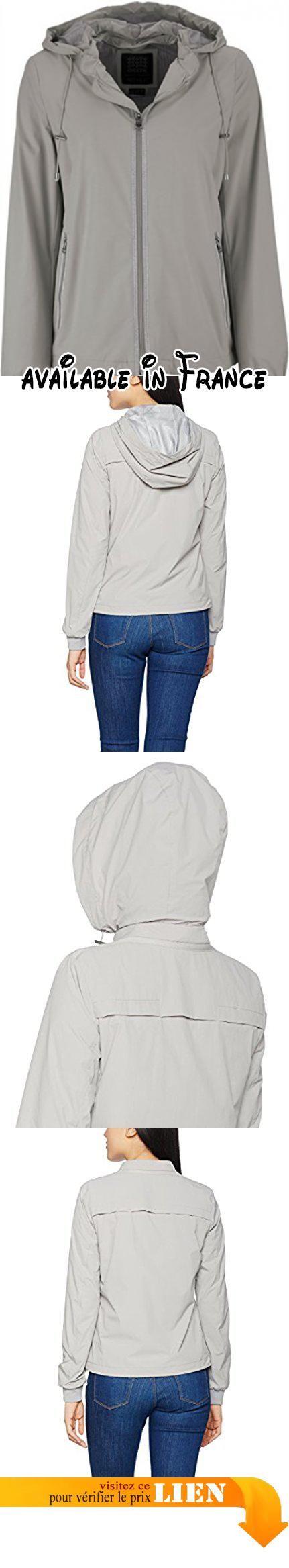 3294504f9dd Geox Woman Jacket, Blouson Femme, Grau (Sesame Grey F1400), 44 ...