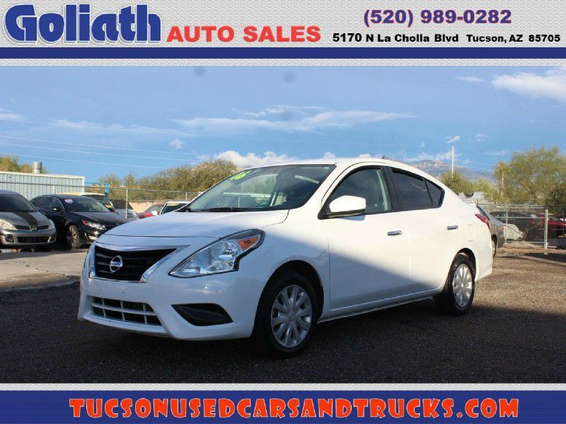 2016 Nissan Versa Sv Goliath Auto Sales Llc Auto Dealership In Tucson Nissan Versa Nissan Cars For Sale