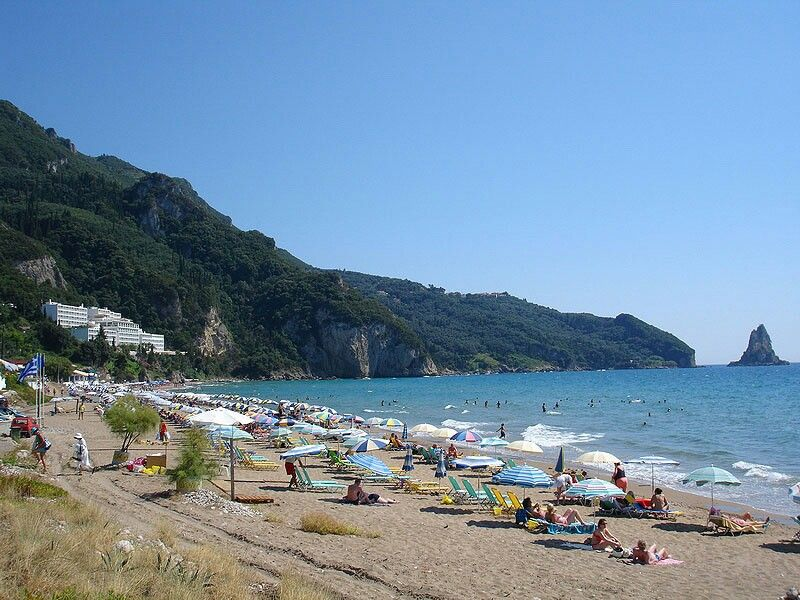 Pontikonisi Corfu Island Greece On This Blog These People Visited Commented