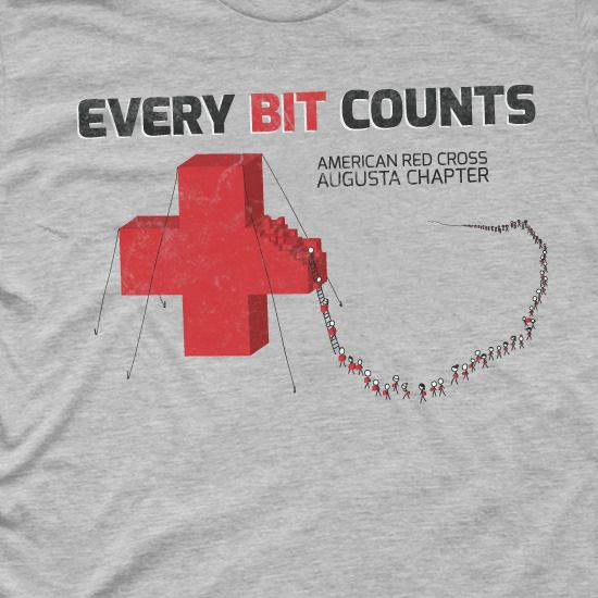 Red cross t-shirts