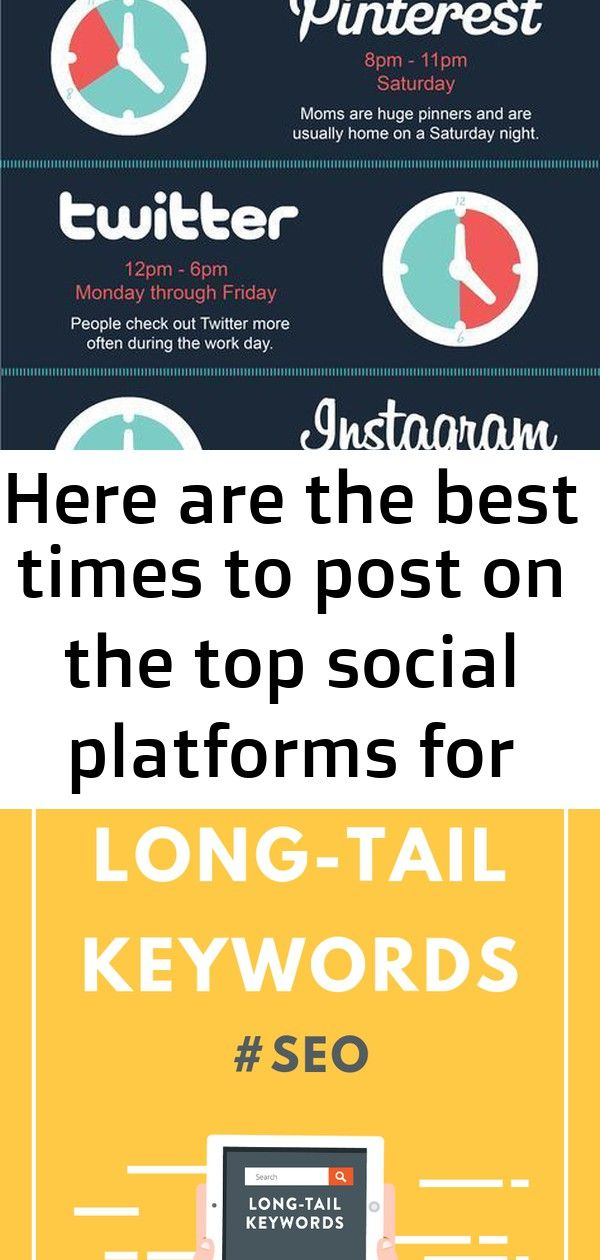 Here are the best times to post on the top social platforms for direct sellers and small business ow