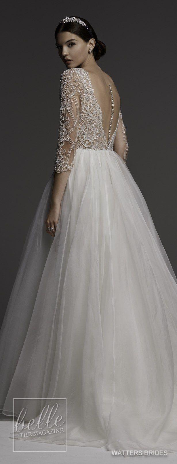 Wedding dresses by watters brides spring bridal dresses