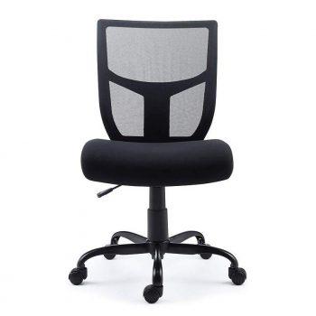 Staples 2715724 Black Task Chair Office Chair Chair Mesh Office Chair