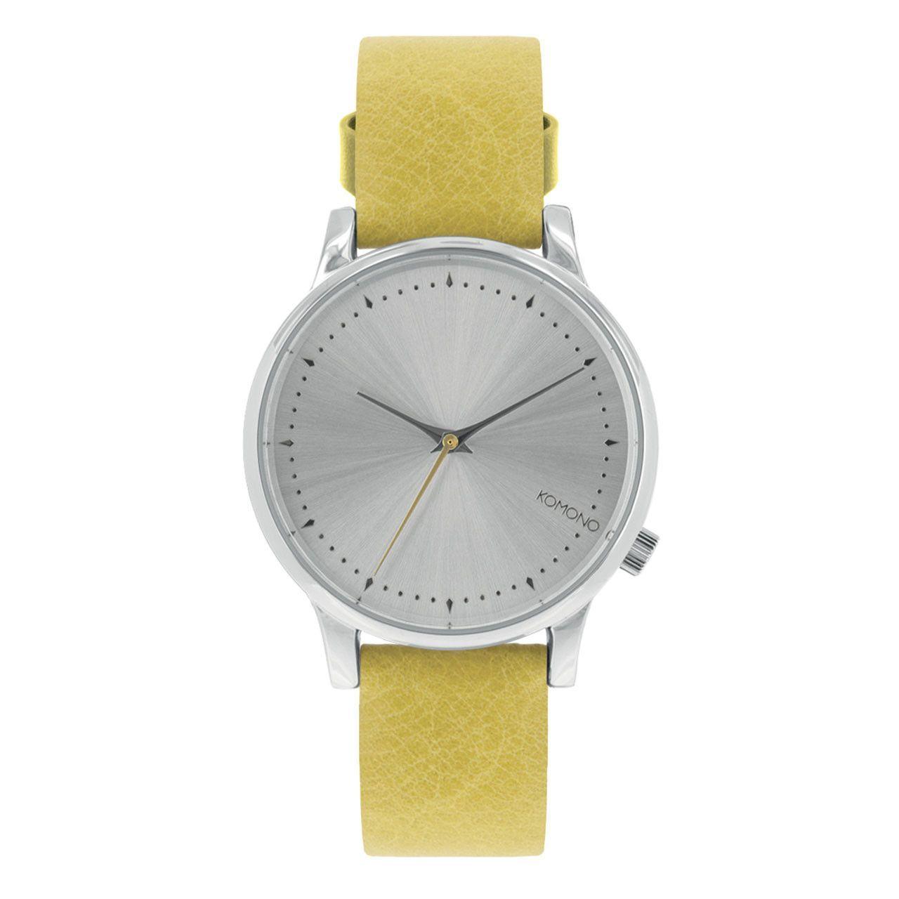 d35e791d810 Komono Estelle Classic Watch Lime Flower