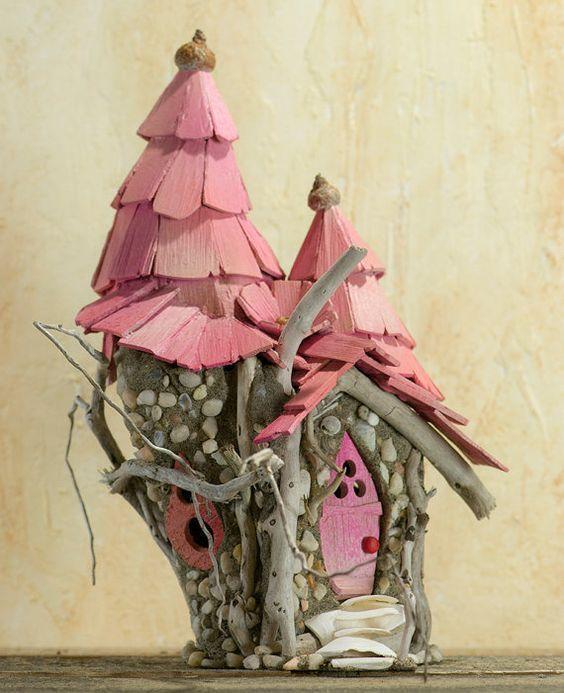 Amazing 55+ DIY Fairy House Ideas ⋆ Crafts and DIY Ideas   fairy ...