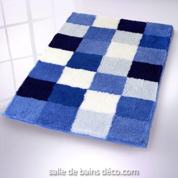 Epingle Par Marine Delbroucq Sur Home Bathroom Aqua Tapis De Bain Tapis Et Bleu