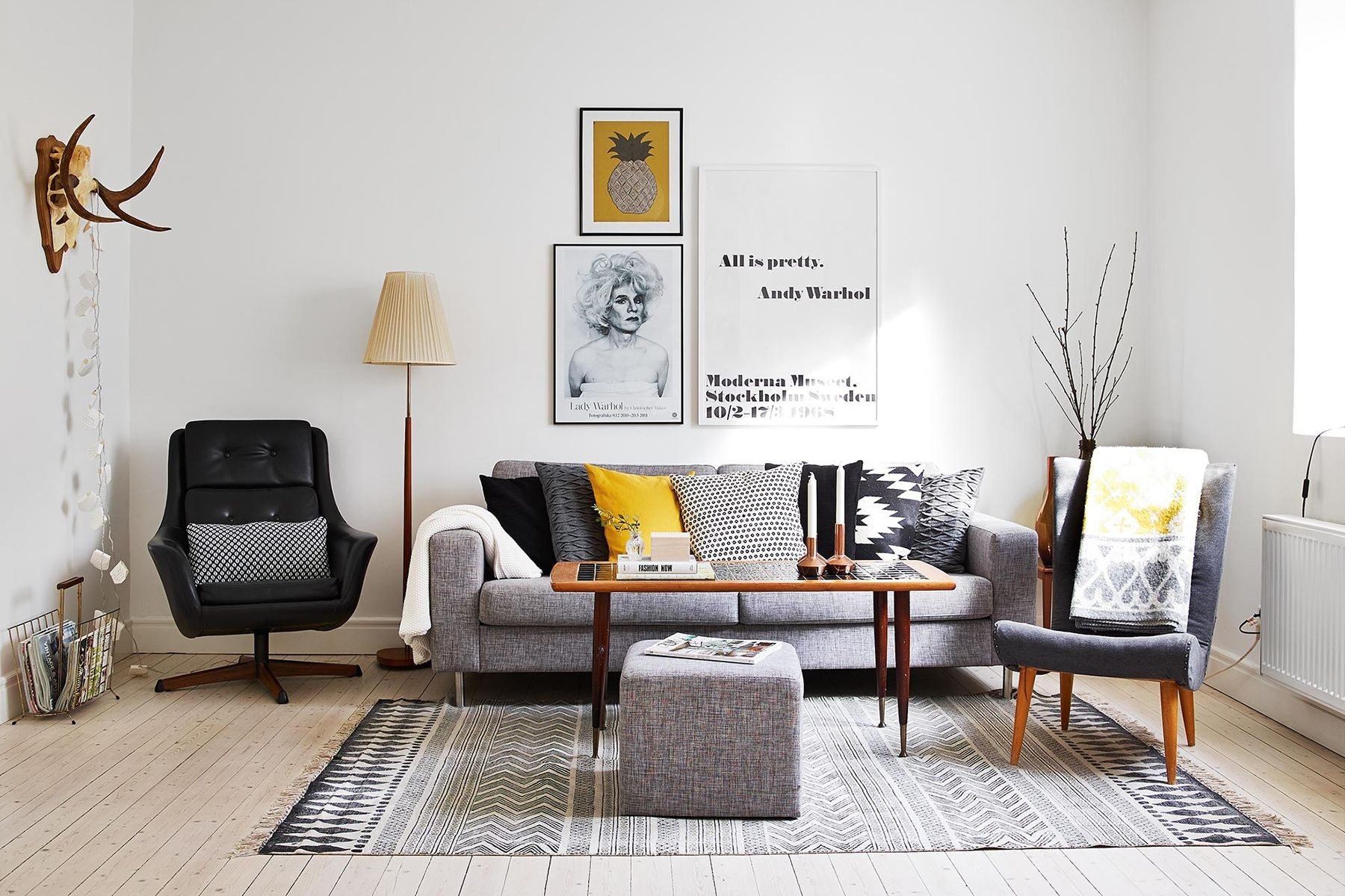 Sofa Vintage A Vendre Scandinavian Living Room With Grey Sofa Top 10 Tips For Adding