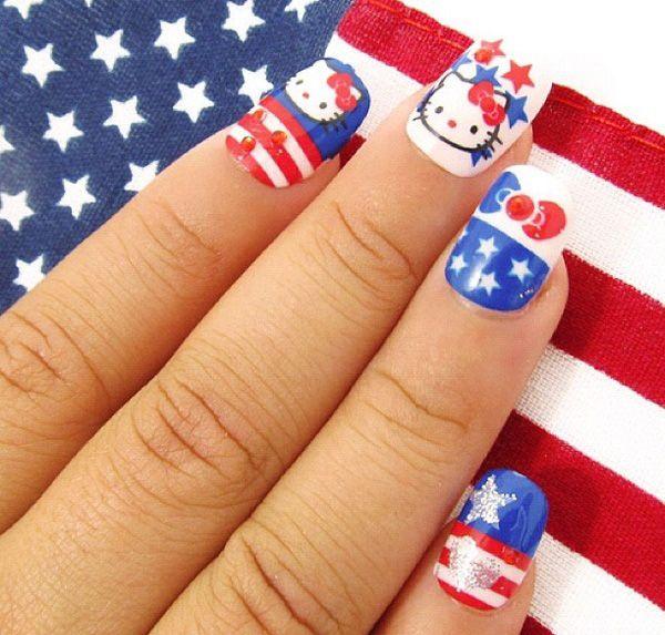 Top 5 Nail Art Tips For Beginners Expert Advice: Hello Kitty Nails Art, Hello