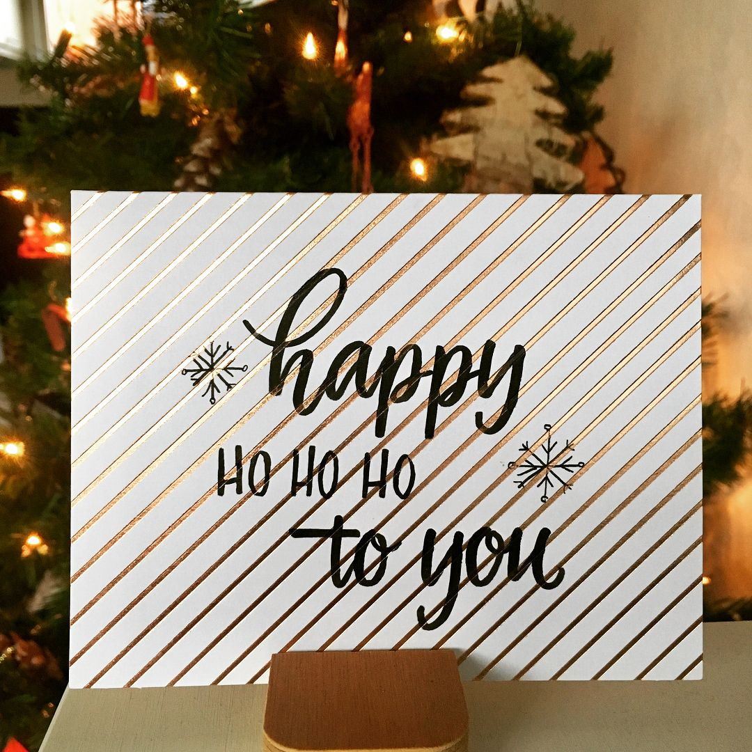 Handmade christmas card mikstype instagram handletters from handmade christmas card mikstype instagram m4hsunfo