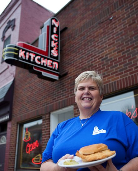 Nicks Kitchen~Nick's Kitchen Earns Praise For Its Breaded