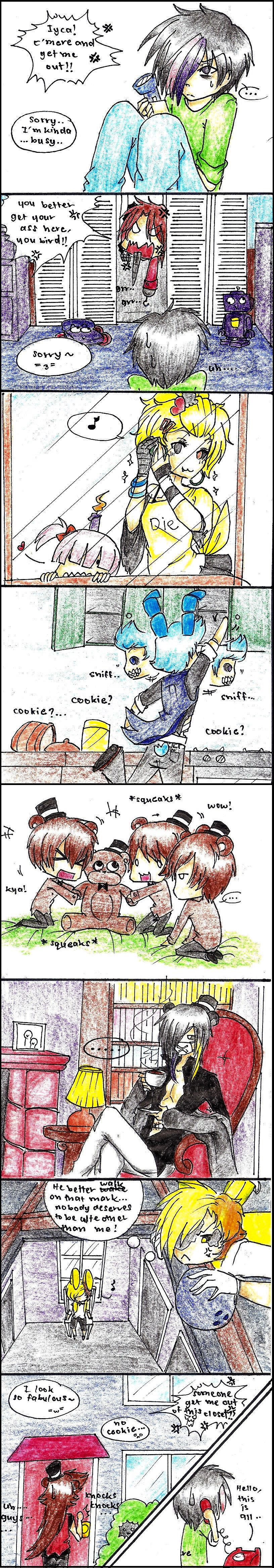 Fnaf 4- behind the trailer.. by karinchan97 on DeviantArt