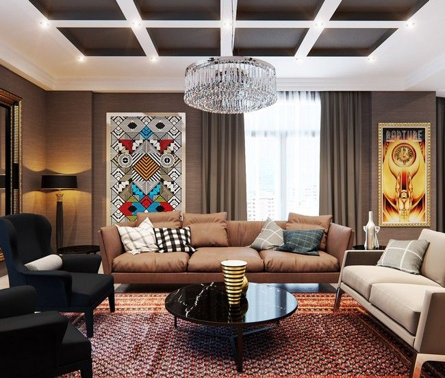 Stylish apartment with classic design features by elvin aliyev and leyla ibrahimova http
