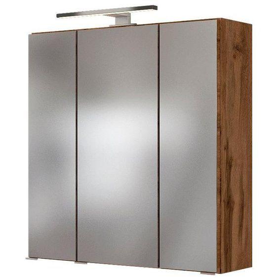Held Mobel Spiegelschrank Baabe Breite 60 Cm Mit Led Beleuchtung In 2020 Spiegelschrank Badspiegelschrank Led Beleuchtung