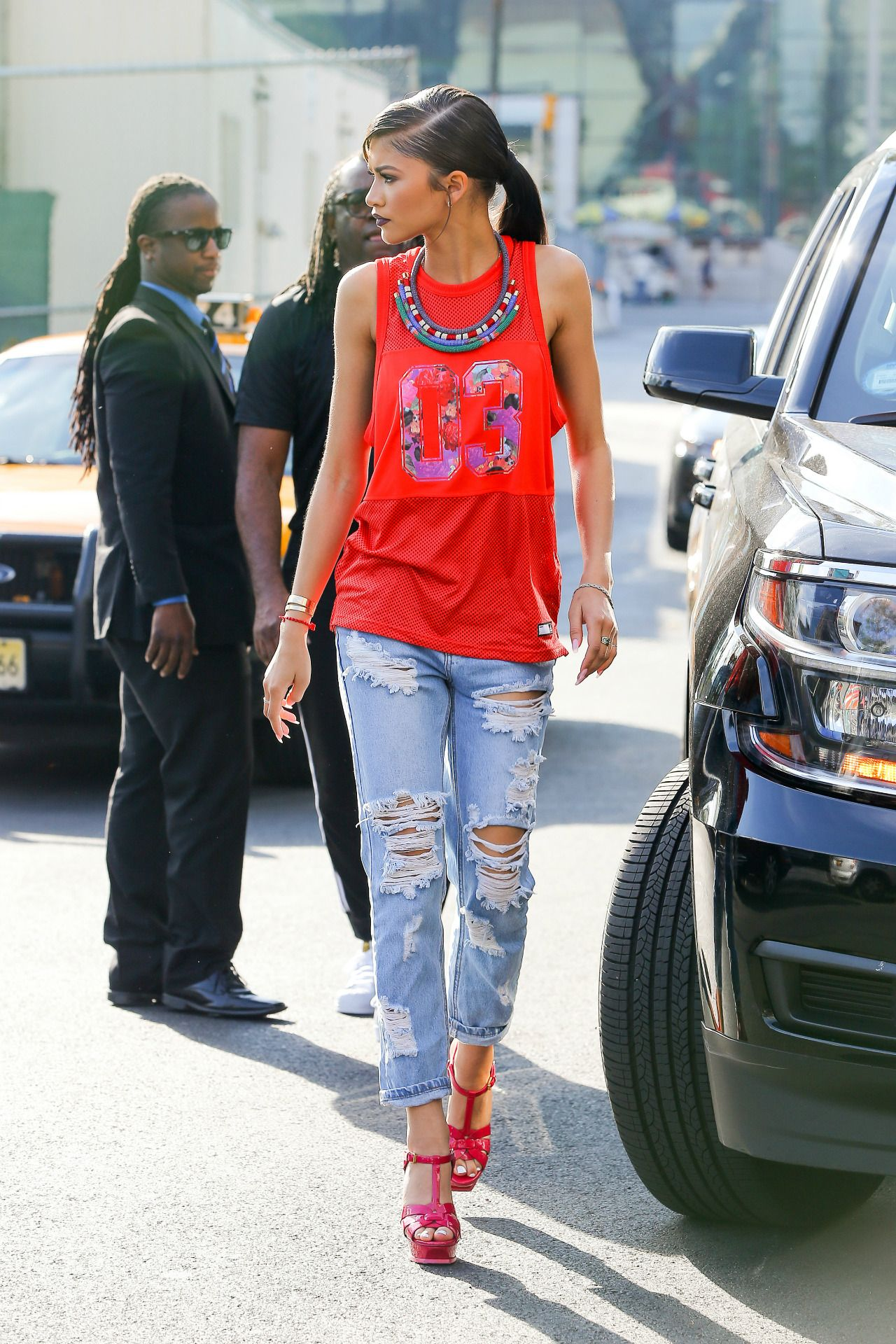 "celebritiesofcolor: ""Zendaya out in NYC """