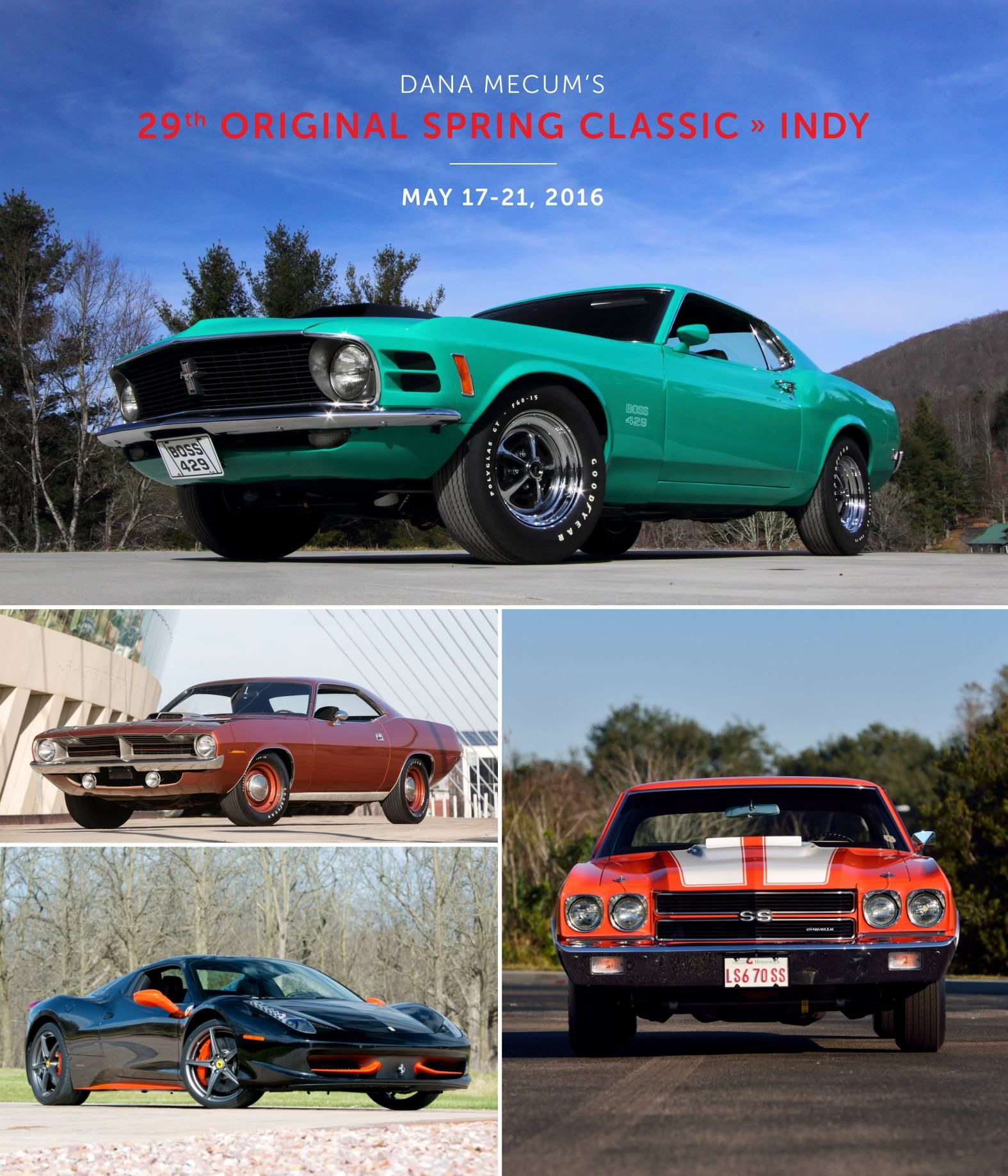 1969 Ford Mustang Boss 429 Fastback presented as Lot F117