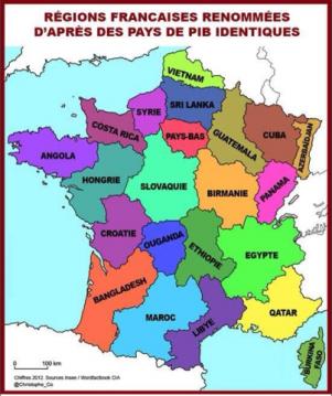 Birmanie Carte Regions.Regions Christophe Courtois La France En Cartes Map Map Symbols