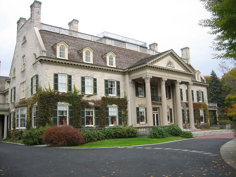 Gigantic But Who Cares House Exterior Eastman House Rustic