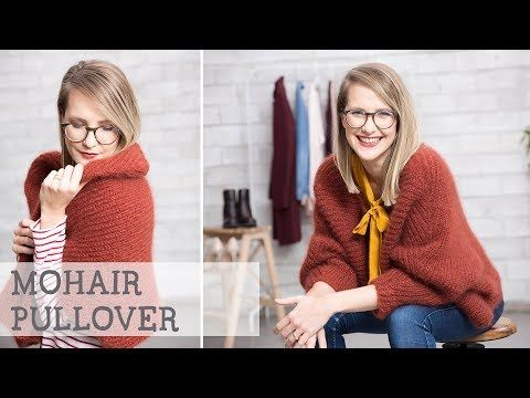 Photo of Strickanleitung: Oversized Pullover aus Mohair