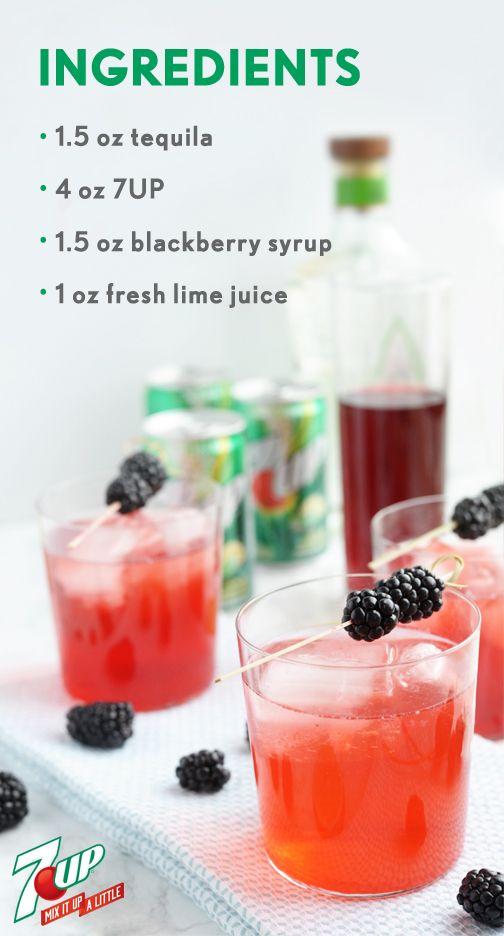 Blackberry Tequila Cocktail #tequiladrinks